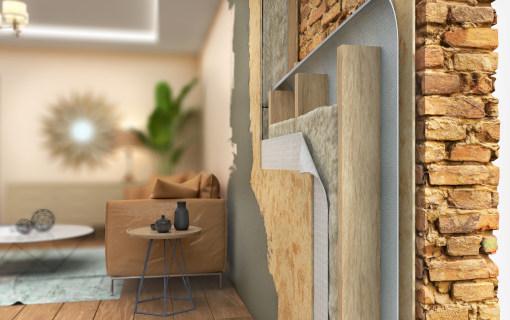 Tutti i vantaggi della coibentazione delle pareti